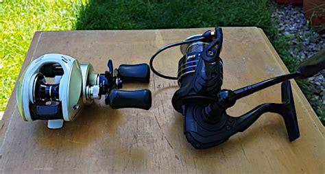 baitcasting reel  spinning reel whats
