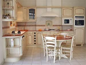installation de cuisine de type provencale a libourne With modele de cuisine provencale moderne