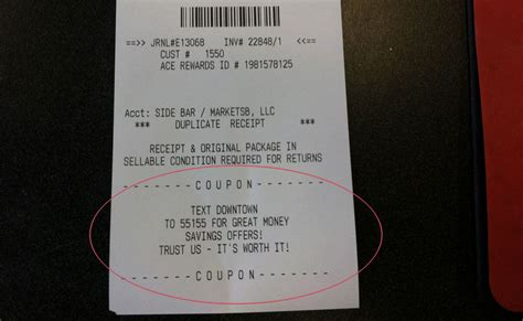 retail tip  register receipts  boost mobile opt