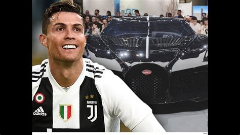 A rep for cristiano ronaldo shot down rumors that the winning $12.5 million bid for the bugatti la voiture noire was the soccer star's. CRISTIANO RONALDO COMPRA CARRO BUGATTI LA VOITURE NOIRE 48 MILHOES - YouTube