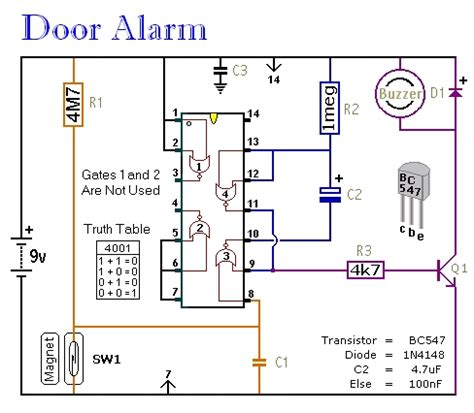 Home Security Alarm Circuit Diagram Gallery Porch
