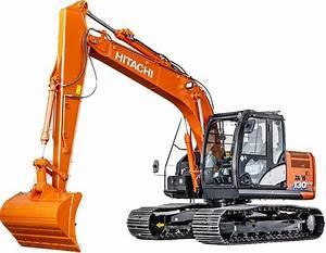 Hitachi Excavators Zaxis 110  120  125  130  135 Excavator