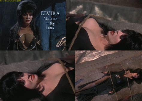 Naked Cassandra Peterson In Elvira S Haunted Hills