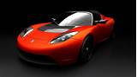 Tesla Motors Offer Test Drives At The 2009 London Motorexpo