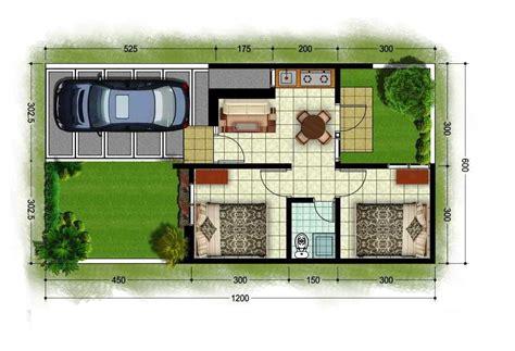 denah rumah minimalis 2 kamar tidur 2 kamar mandi 12 denah rumah minimalis type 36 1 lantai 2 lantai