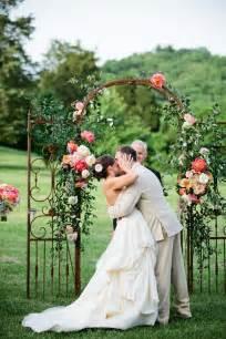 simple wedding ceremony unique wedding arch inspiration floral canopy