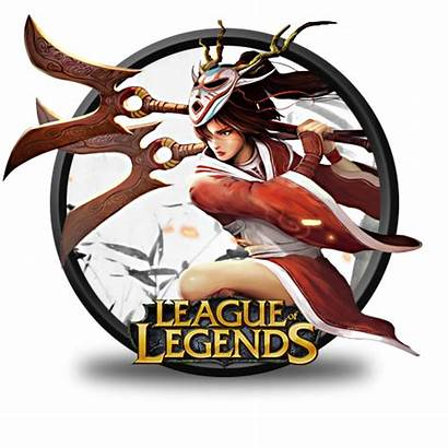 Akali Blood Moon Icon League Legends Icons