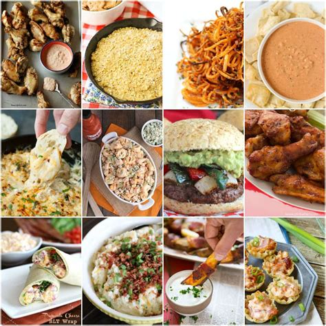 easy tailgate recipes 50 easy appetizers and tailgate food ideas