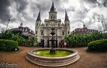Jackson Square in the French Quarter of New Orleans ...
