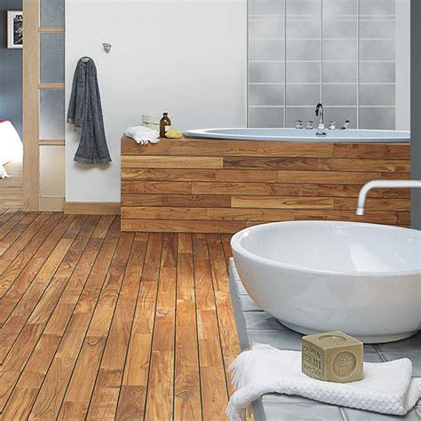 quel parquet pour salle de bain rev 234 tement sol pour la salle de bain lequel choisir