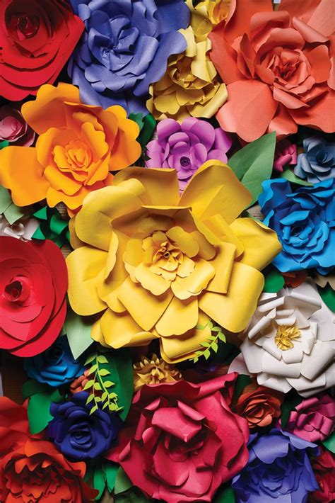 blue bathroom ideas 51 diy paper flower tutorials how to paper flowers