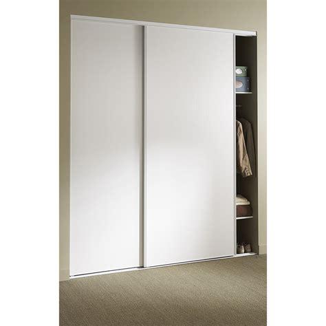 porte de placard coulissante castorama armoire portes blanc lxpxh cm aurore with porte de