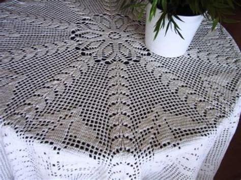 patrones de manteles redondos tejidos  crochet imagui