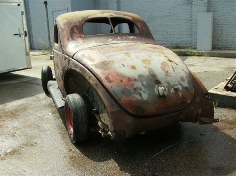 ford coupe project rolling chassis  complete body
