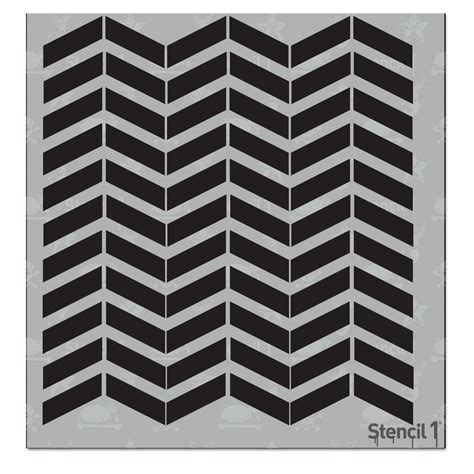 Chevron Template For Painting by Stencil1 Chevron Small Repeat Pattern Stencil S1 Pas 37s