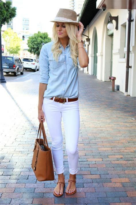 avec quoi porter une chemise en jean 1001 images de la tenue avec chemise en jean
