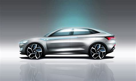 Auto Electric Car by Skoda Vision E It S The Czechs Electric Car Car