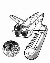Coloring Space Spaceship Rocket Nasa Shuttle Tank Kleurplaat Ship Cartoon Droping Kleurplaten Travel Af Cliparts Ruimtevaart Animated Clipart Van Ruimte sketch template