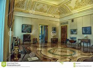 Interior Of Marble Palace Editorial Stock Image - Image ...