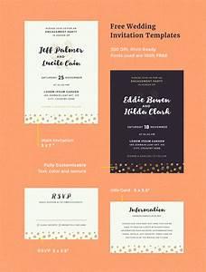 free wedding invitation templates With digital wedding invitation templates free download