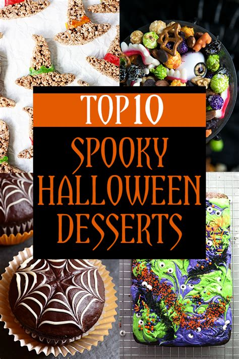 Top 10 Spooky Halloween Desserts For 2017  Kitschen Cat