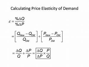 Ppt - Chapter 4 Elasticity Powerpoint Presentation