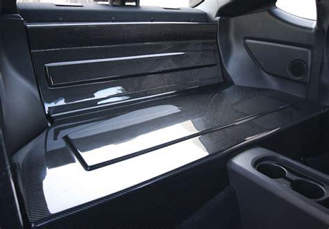 seibon carbon fiber rear seat delete