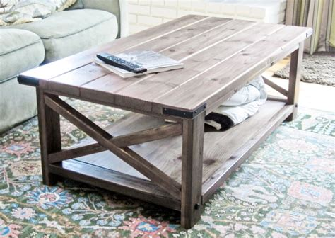 free simple end table plans ana white rustic x coffee table diy projects