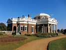 Thomas Jefferson's Monticello in Charlottesville, VA