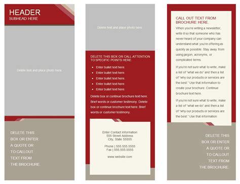 Brochure Design Free Templates Costumepartyrun - Free printable brochure templates online