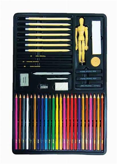 Drawing Pencil Kits Sketch Pad Kit Beginners