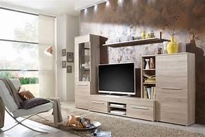 Wohnwand Wohnzimmerschrank Schrankwand TV Element Real