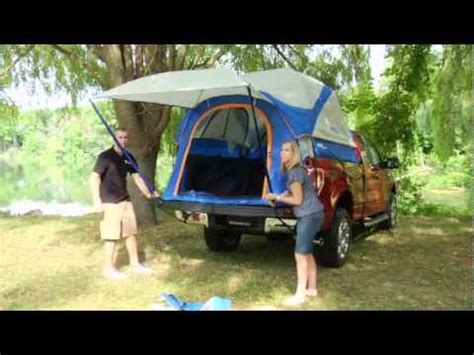 truck tent set  sportz  series  napier youtube