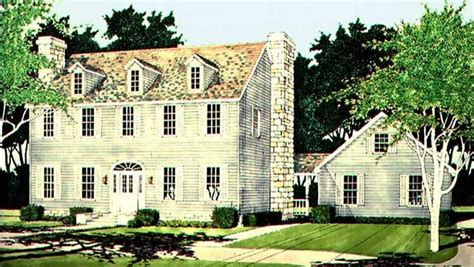 Federal House Plans by Adam Federal House Plan With 2485 Square And 3