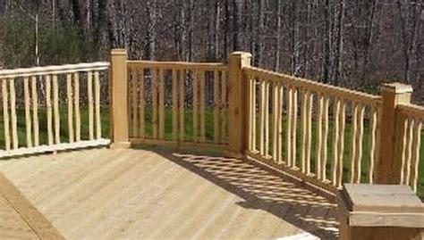 double vertical  baluster design outdoor living