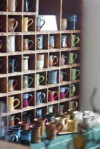 17 best images about coffee mug storage on pinterest for What kind of paint to use on kitchen cabinets for tea and coffee wall art