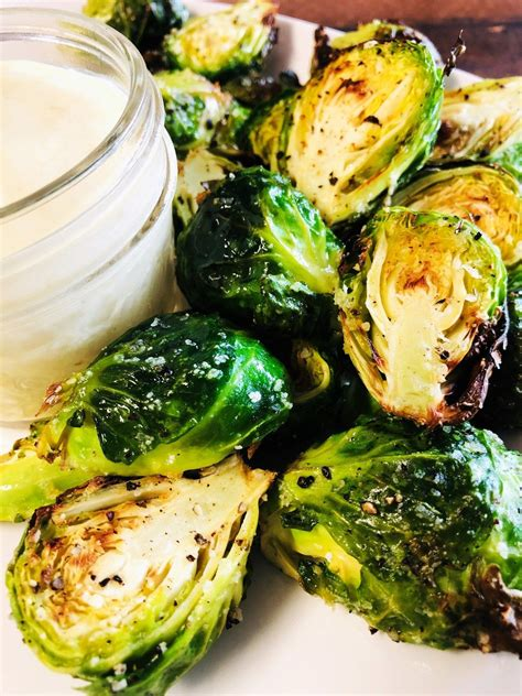 fryer air sprouts brussel parmesan garlic recipe zucchini well cooks others easy recipes cookswellwithothers brussels