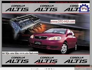Toyota Corolla Altis 2001 Workshop Manual