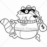 Burglar Drawing Cartoon Clipartmag sketch template