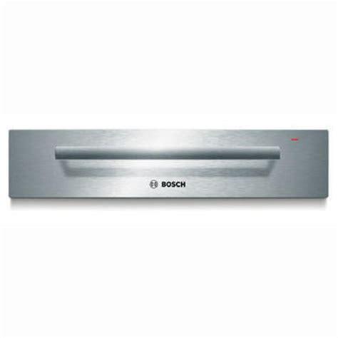 bosch microwave drawer bosch hsc140652b 14cm high warming drawer in brushed steel