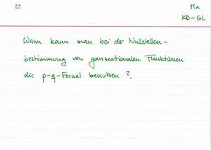 Nullstellen Berechnen Polynomdivision : p q formel richtig anwenden lernwerk tv ~ Themetempest.com Abrechnung