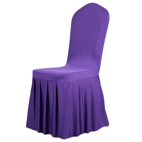spandex stretch dining chair cover restaurant hotel chair