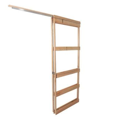home depot pocket door 36 in pocket door frame dfpdi430 the home depot
