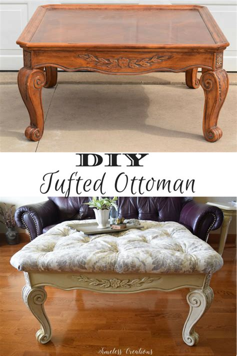 Diy Tufted Ottoman by 100 Room Challenge Week 2 Diy Tufted Ottoman Timeless