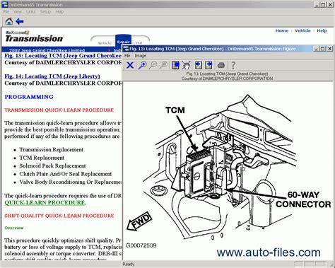 Mitchell Demand Transmission Repair Manuals