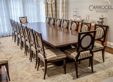 Havertys Dining Room Chairs by Custom Art Deco Mahogany Dining Table With Square Back