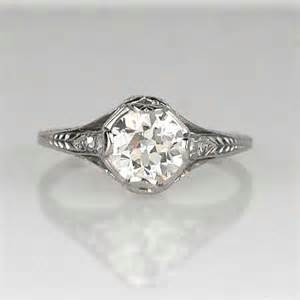 antique deco engagement rings deco circa 1920 39 s engagement ring 2r595