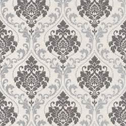 seamless paper silver royal damask wallpaper walls republic