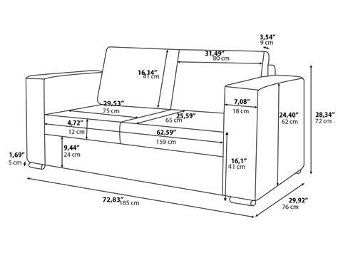 how to measure a sofa standard 2 seater sofa size savae org