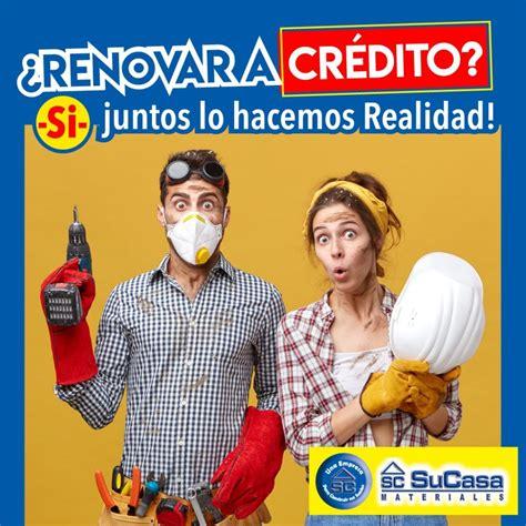 Renueva tu hogar solicitando tu crédito SuCasa Materiales